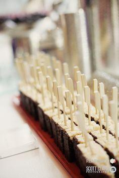 Chocolate Rice Krispies on a stick #Engage12 at @MO_LasVegas