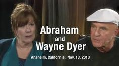 """In this video Esther Hicks, channelling Abraham, chatting with Wayne Dyer (Natural Energy 8), Abraham talks about choosing to develop a practice of functioning on a """"higher-disk"""", a higher frequency. Find out more about what this means"""