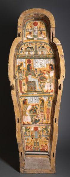 Coffin of Nesykhonsu. XXI-XXII Dynasty. Museum of Art of Cleveland. Ancient Egypt