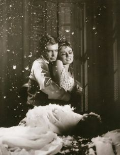 from Breakfast at Tiffany's (Audrey Hepburn and George Peppard)