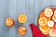 Fizzy Cranberry-Orange Punch  - Delish.com