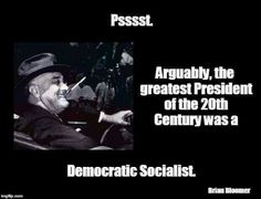 Democratic Socialism : Reigns in unbridled capitalism and levels the playing field for ALL Americans not just the 1% !!!