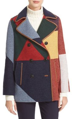 SPRING Tory Burch Cheval Colorblock Peacoat casual winter cute edgy wool #SPRING for women classy with boots heels leggins tights jeans pants over 40 modest plus size @ToryBurch #ZigfridFatal fashion trendy chic looks outfits $ https://api.shopstyle.com/action/apiVisitRetailer?id=602291153&pid=uid2761-36626069-20 New York, Los Angeles, San Francisco,Washington,Miami,Ottawa,Toronto,Atlanta,Chicago,Dallas,Las Vegas,Seattle,London,Paris,Milano,Madrid,Tokyo,Beijing,Brazil,Argentina,Mexico