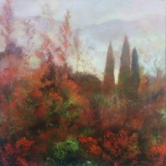 "Saatchi Art Artist Halina Wyluda Kazmierczak; Painting, ""Tales form the Land of Joy"" #art"