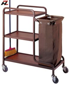 Hotel Housekeeping Cleaning Trolley-Housemaid Trolley