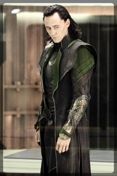 "Loki (Tom Hiddleston) ""imprisoned"" on the Helicarrier.HA!"
