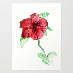 Flower Art Print by art dun - $15.60