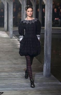 A Look from the Chanel Pre Fall 2013 Collection