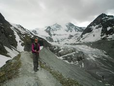 Moiry Glacier from Grimentz