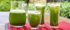 Suco detox de espinafre com maçã - Lucilia Diniz