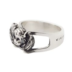 Angel Signet Ring #viviangioielli #anelloangioletto #angel #silver #ring #angioletto