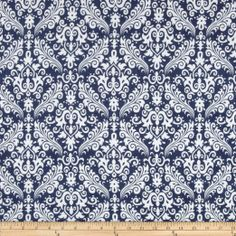 Amazon.com: Riley Blake Flannel Medium Damask Navy Fabric: Arts, Crafts & Sewing