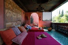 DAR JL's villa HIPPIE VILLAGE - Luxury Villa Rentals in Marrakech