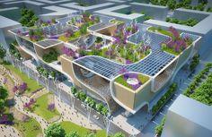 vincent callebaut plans wooden orchids complex for china