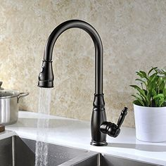 delta faucet essa single handle pulldown kitchen faucet with magnatite docking and touchclean spray head matte black