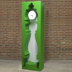 InsideOut Clock Green  by POLaRT