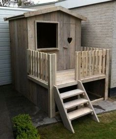 Amazing Kids Playhouse Plans This Tower Style Playhouse