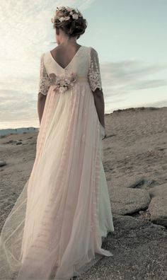 2017 Collection - Monair Elven Wedding Dress, Wedding Gowns, Dressy Dresses, Girls Dresses, Communion Dresses, First Communion, Beautiful Dresses, One Shoulder Wedding Dress, Fashion Dresses