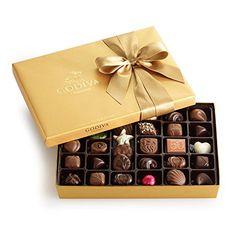 Godiva Chocolatier Gold Ballotin Classic Gold Ribbon 36 Piece *** Click image for more details.