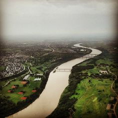 """@djchopperboy's photo: """"The river valley this morning #yeg"""""""
