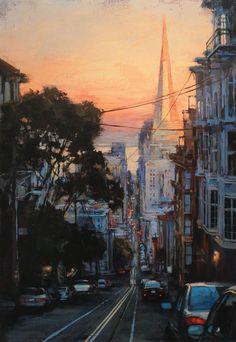 Lindsey Kustusch | Cityscape painter | Tutt'Art@ | Pittura * Scultura * Poesia * Musica |