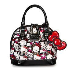 88f516c8a Hello Kitty All Stars Patent Embossed Mini Dome Hello Kitty Handbags, Hello  Kitty Bag,