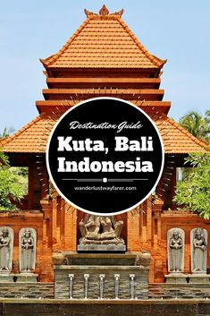 Check out the best way to spend 1 packed day in #kuta, #bali , in #indonesia. #travel #destinationguide