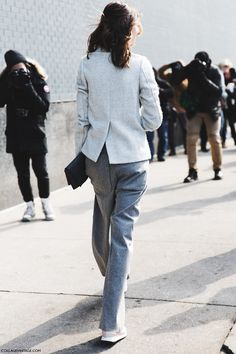 grey on grey. London.