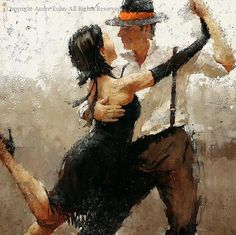 In the Hands of Passion - Oil by Andre Kohn