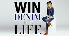 Enter to Win DENIM FOR LIFE from Jean Machine! http://woobox.com/nwch2z/g53zf7