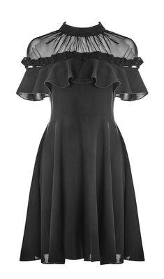 Pretty Outfits, Pretty Dresses, Beautiful Dresses, Harajuku Fashion, Lolita Fashion, Teen Fashion Outfits, Fashion Dresses, Fantasy Dress, Nu Goth