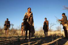 Bosquímanos, os senhores do Kalahari
