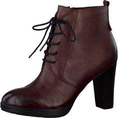 s.Oliver stövlett vinröd från S. Oliver - Stövletter Red Shoes 8a4d1f55ad75d