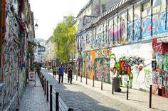 20eme, Rue Denoyez Street Art