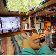 "3,543 Likes, 22 Comments - Mark Conley (@vanlifeideas) on Instagram: ""@wjplata""|Van Life|Van Life Interior|Van Life Ideas|Van Life DIY|Vanlife|Vanlifers|"