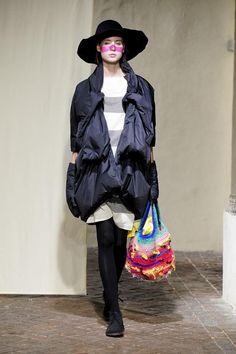 cool chic style fashion: Daniela Gregis Fall 2013 + BENEDETTA BARZINI