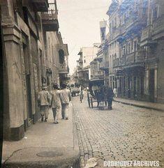 Calle Fortaleza, San Juan 1900