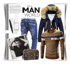 """Bez naslova #85"" by fashion-with-lela ❤ liked on Polyvore featuring NIKE, men's fashion and menswear"
