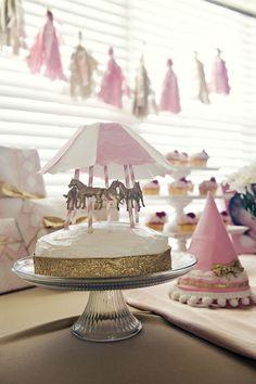 GreyLikesBaby LittleRedWagon13 01 Carousel Birthday Party