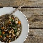 i LOVE lentils and they are SOOO nourishing! Lentil Stew with Winter Vegetables and Mustard Greens