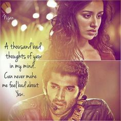 Aashiqui 2 quotes aditya roy kapur and shraddha kapoor