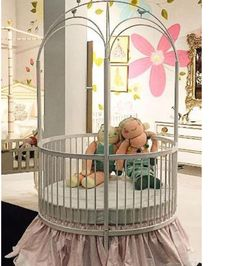 The Round Crib you've all been asking for! Call our Design Consultants today to discuss custom finish options. Yes we can do custom finishes! Boy Girl Room, Girl Rooms, Round Cribs, Nursery Toys, Design Consultant, Sophisticated Style, Toddler Bed, Nurseries, Children