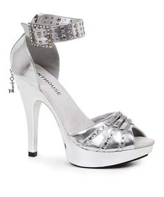 Another great find on #zulily! Silver Jamie D'Orsay Pump #zulilyfinds