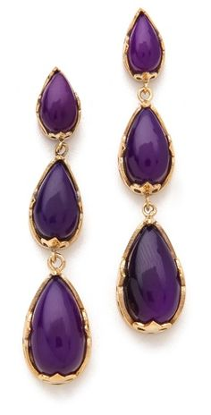 purple/gold... love these. they are so Kyle from rhobh