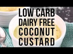 A coconut custard perfect for those who crave sweets during the weight loss phase of a low carb diet. With only 2g carbs, eating it won't stall weight loss.