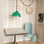 Dollar Store Crafts  » Blog Archive   » Tutorial: Retro-Style Dollhouse Formica Table