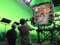Behind the scenes of Godzilla (2014) - Subway Scene