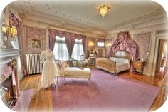 Historic home / museum photography. HDR photograph of a woman's elegant bedr… Historic home / museum photography. HDR photograph of a woman's elegant bedroom at Ruthmere in Elkhart, IN. Elegant Home Decor, Elegant Homes, Discount Bedroom Furniture, Furniture Decor, Mansion Interior, Victorian Homes, Victorian Bedroom, Victorian Interiors, Victorian Furniture