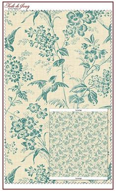 Toile de Jouy fabric line by Emily Hayes for Penny Rose Fabrics—Subscribe to our newsletter at http://www.rileyblakedesigns.com/newsletter/