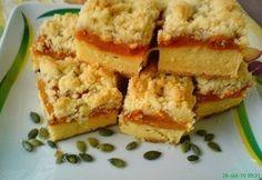 Sütőtökös morzsás pite Krispie Treats, Rice Krispies, Cornbread, Cheesecake, Ethnic Recipes, Food, Millet Bread, Cheesecakes, Essen